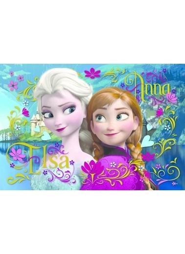 Trefl Trefl Puzzle Disney Frozen Anna ve Elsa 100 Parça Puzzle Renkli